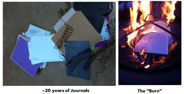 Journal Burning